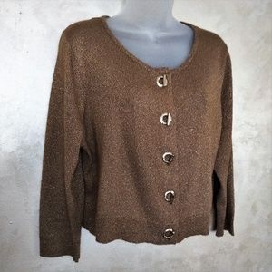 Calvin Klein Cropped Sweater Like New XL